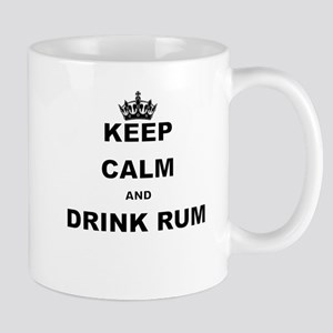 KEEP CALM AND DRINK RUM Mugs