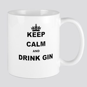 KEEP CALM AND DRINK GIN Mugs