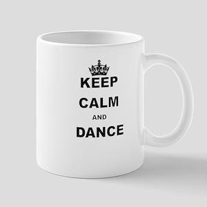 KEEP CALM AND DANCE Mugs