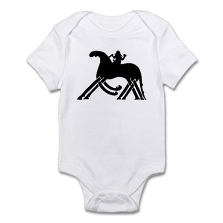Odin on Sleipnir Infant Bodysuit