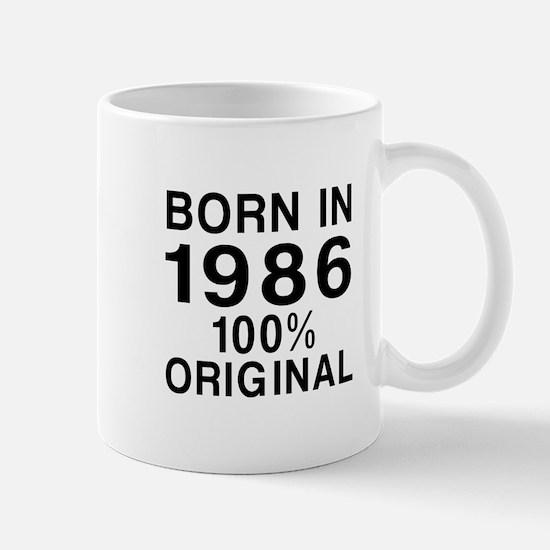 Born In 1986 Mug
