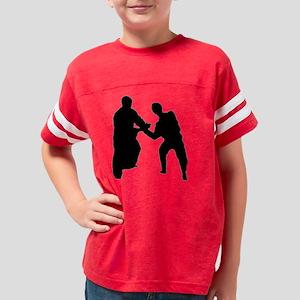 kote_blackBlurred Youth Football Shirt