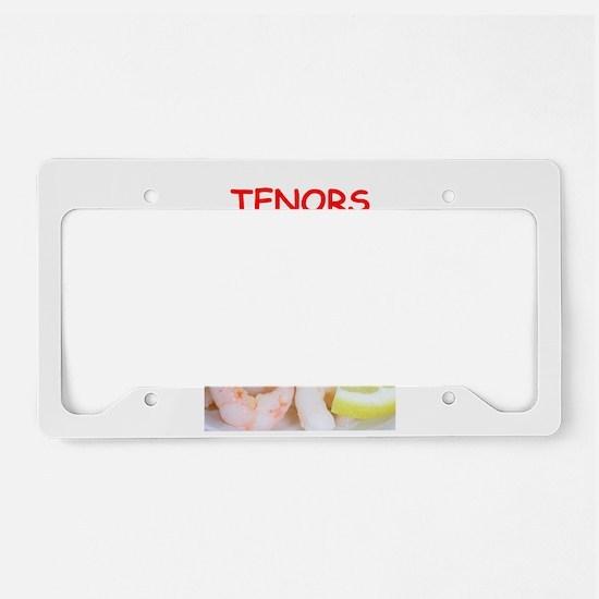 tenors License Plate Holder