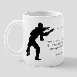 Fencing Style 4 Mug