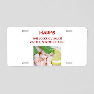 harp,harper,harpist Aluminum License Plate