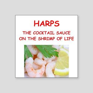 harp,harper,harpist Sticker