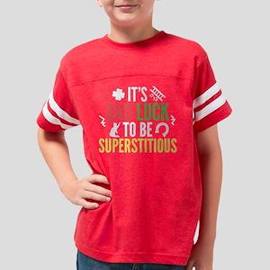 BadLuckSuperst1F Youth Football Shirt