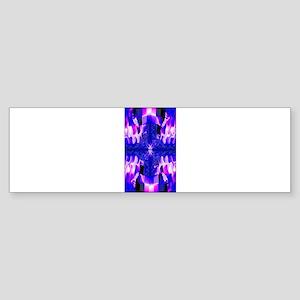 Pastel Cross Bumper Sticker