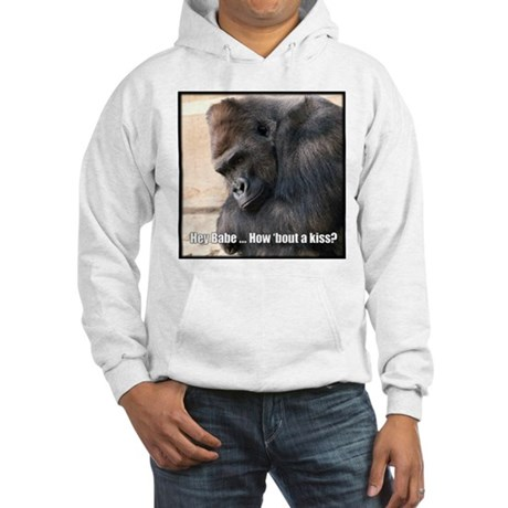 How 'Bout a Kiss Hooded Sweatshirt