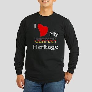 German Heritage Long Sleeve Dark T-Shirt