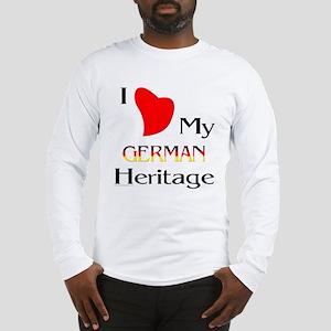 German Heritage Long Sleeve T-Shirt
