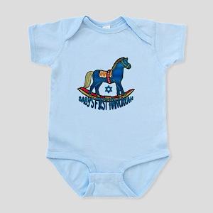 Baby's First Hanukkah Infant Bodysuit