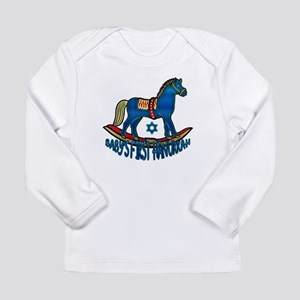 Baby's First Hanukkah Long Sleeve Infant T-Shirt
