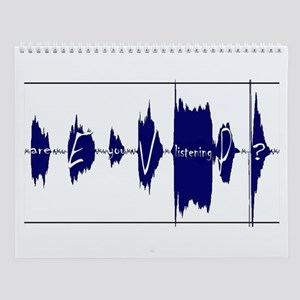 Electronic Voice Phenomena Wall Calendar
