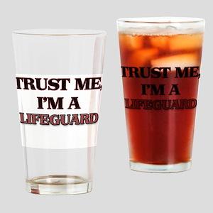 Trust Me, I'm a Lifeguard Drinking Glass