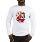 Kitty Valentine Long Sleeve T-Shirt