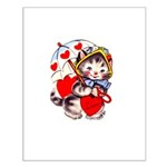 Kitty Valentine Small Poster