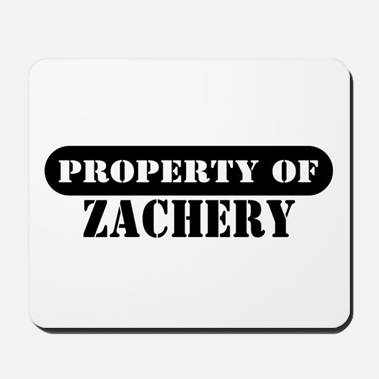 Property of Zachery Mousepad