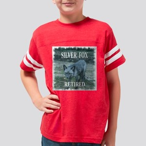 Silver Fox Retired Youth Football Shirt