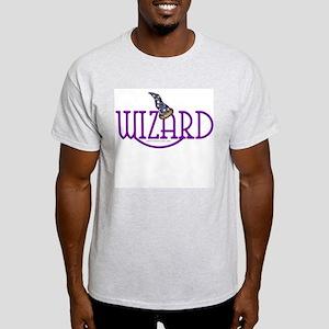 Wizard Ash Grey T-Shirt