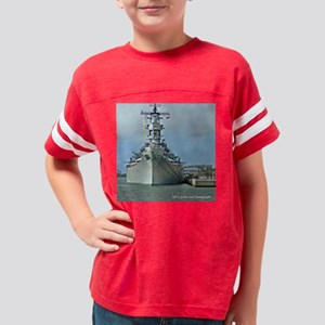 USS Missouri Youth Football Shirt