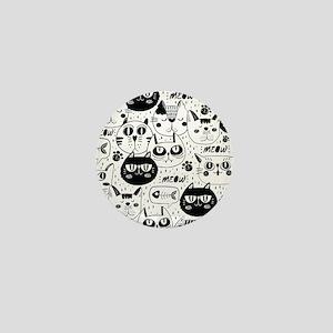 Cat Faces Mini Button