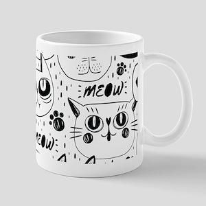 Cat Faces Mugs