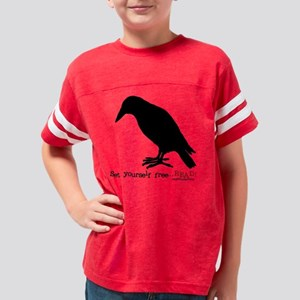 ca_setyourself free_bird Youth Football Shirt