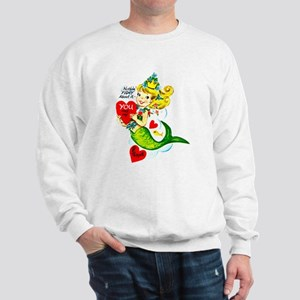 Mermaid Valentine Sweatshirt