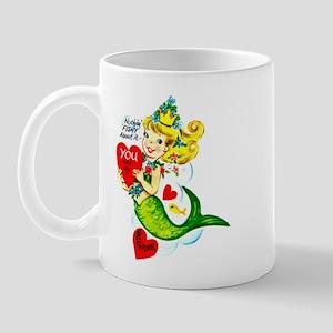 Mermaid Valentine Mug