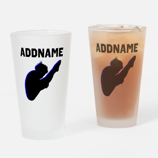 DIVING STAR Drinking Glass