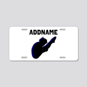 DIVING STAR Aluminum License Plate