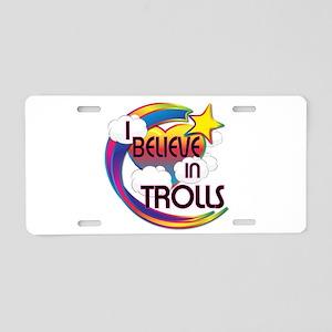 I Believe In Trolls Cute Believer Design Aluminum