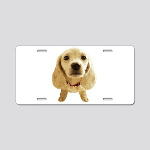 DAchshund004 Aluminum License Plate