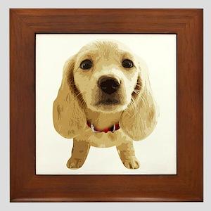 DAchshund004 Framed Tile