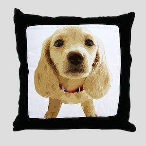 DAchshund004 Throw Pillow