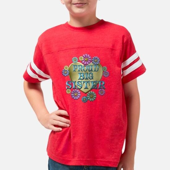 PROUDBIGSISTER Youth Football Shirt