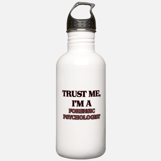 Trust Me, I'm a Forensic Psychologist Water Bottle