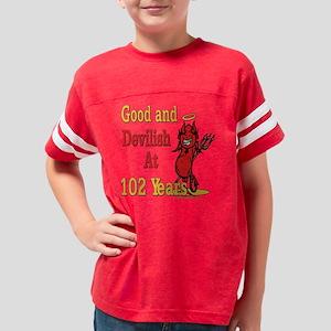 Devislish102 Youth Football Shirt