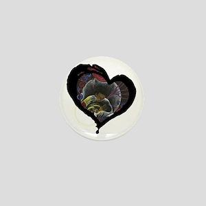 Not Alone Heart Mini Button