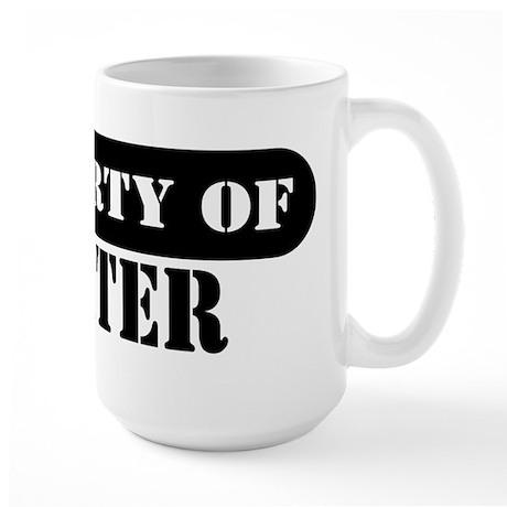 Property of Walter Large Mug