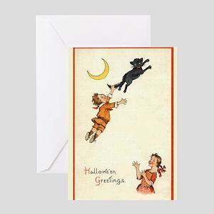 Vinage Halloween Greeting Card