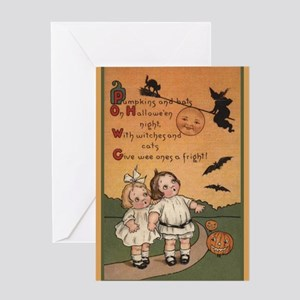 Vintage Halloween Card Greeting Cards