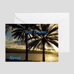 Sunset Haleiwa, Oahu Greeting Cards