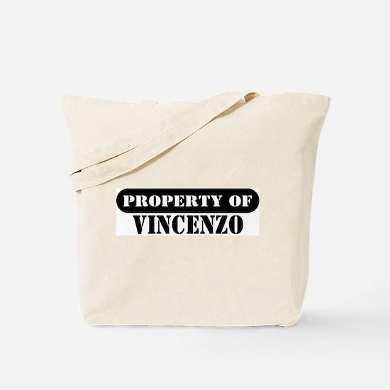 Property of Vincenzo Tote Bag
