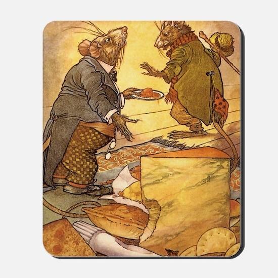 Vintage Fairy Tales Mousepad