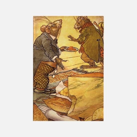Vintage Fairy Tales Rectangle Magnet