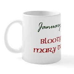 Mug: Bloody Mary Day