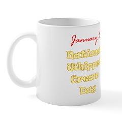 Mug: Whipped Cream Day