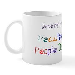 Mug: Peculiar People Day